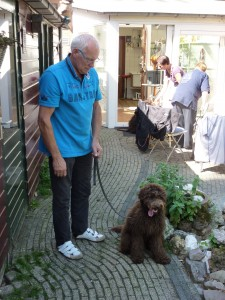 Piet en Didger voor de workshop